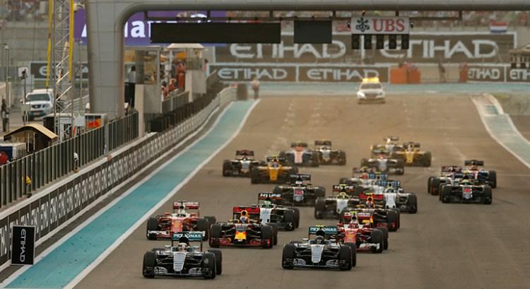 A última largada : circuito Yas Marina, Abu Dhabi, 27/10/2016 (Foto Mercedes)
