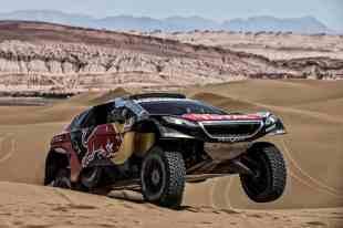 3008 DKR durante o Dakar (Red Bull Racing)