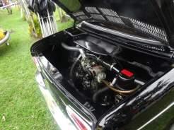 O motor originalíssimo inclusive com detalhes da montagem do carro presentes (Foto: autor)