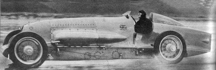 Bluebird II, projeto geral de Villiers (Wikimedia)