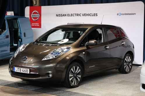 Nissan Leaf, já um pouco antigo
