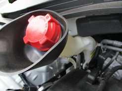 Reservatório de gasolina do sistema de partida a frio