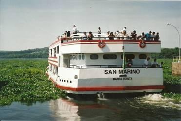 Navegando no rio Tietê alto