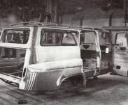Protótipo da Chevrolet Amazona em construção na Brasinca (Foto: livro O Século do Automóvel no Brasil)