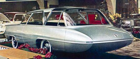 Ghia Selene, futurístico para viagens familiares