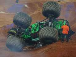Grave Digger mostra chassis