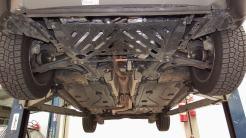Há protetor de motor e câmbio apesar da boa altura de rodagem