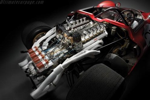 O V-12 do Ferrari 350 Can-Am