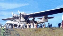 """Consolidated PBY-5 Catalina. Conhecida como """"Pata-Choca"""". Originalmente um patrulheiro e bombardeiro marítimo, acabou se tornando avião de transporte no pós-guerra. No Brasil levou a integração a muitas áreas da região amazônica. Voou na FAB até 1982. (panairbr.blogspot.com)"""