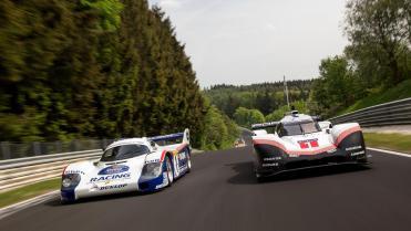 919 EVO e o 956 (Porsche)