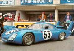 CD preparado para a corrida de 1967 (classiccarcatalogue)