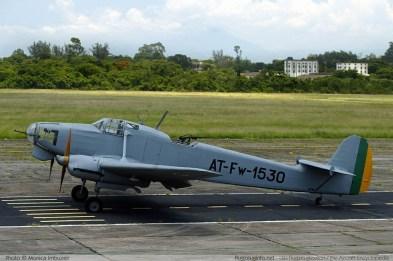 O Focke Wulf FW-58, o único ainda sobrevivente no mundo. (Monica Imbuzeir flugzeuginfo-net)