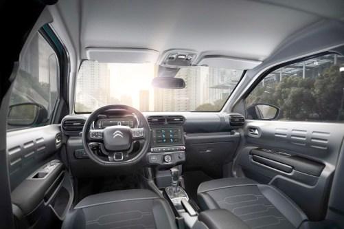 Interior recebeu muita atenção da Citroën