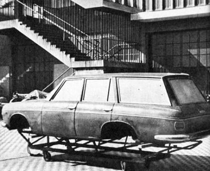 A station wagon Fissore que não chegou a existir