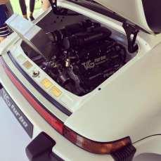 No 911, com um trocador de calor removido para visualização