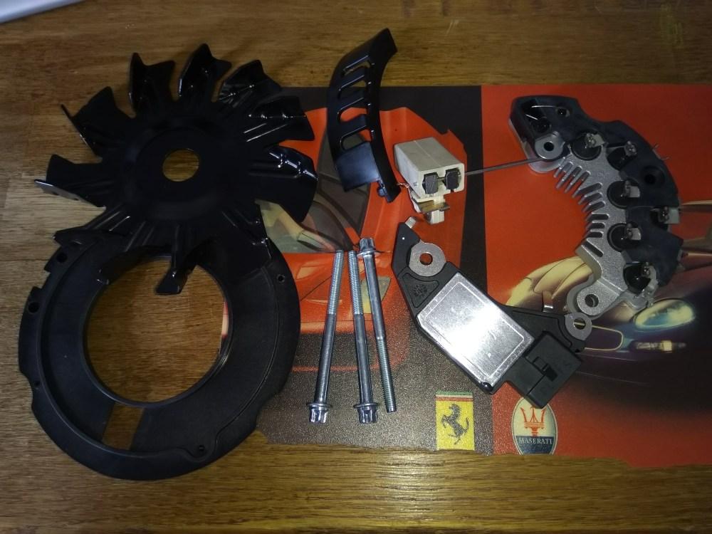 medium resolution of ferrari 139421 alternator 348 f40 mondial delco r my alternator repair kit