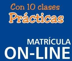 Matrícula 10 clases