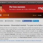 """Autoestima Flamenca en el programa de RTVE """"Por tres razones"""""""