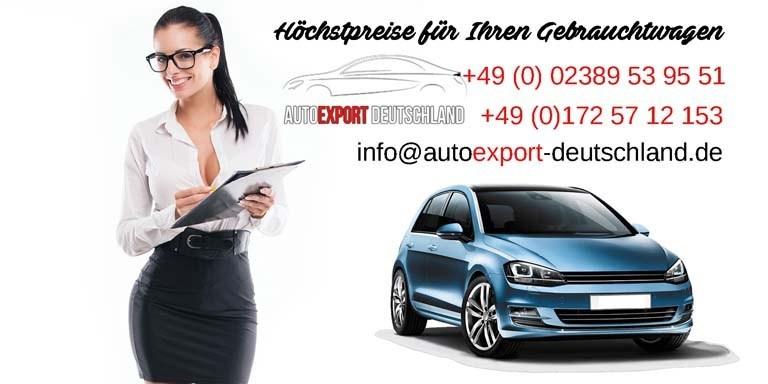 Autohändler Export