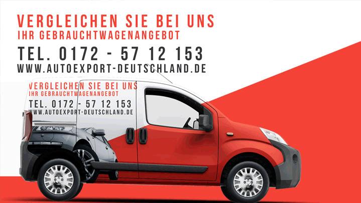 Autoankauf für Export