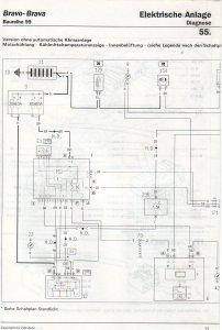 Elektrische Schaltbild Clio 2