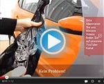 Zusammen geklebte Car Wrapping Folie Video