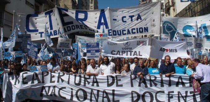 Resultado de imagen para movilización politica en la argentina
