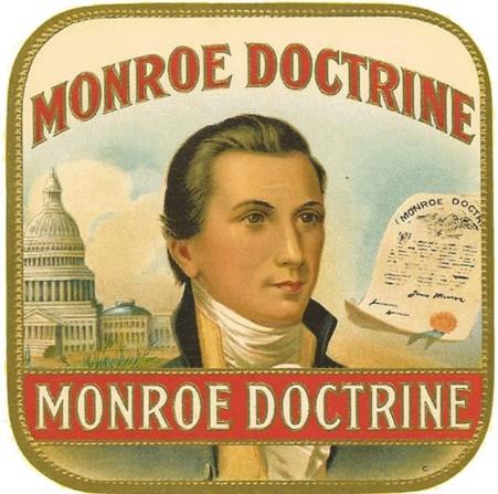 Resultado de imagen de doctrina monroe