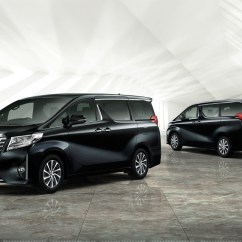 All New Alphard Executive Lounge Fitur Grand Avanza Toyota Launches And Vellfire Minivans In Japan Model Hybrid Black