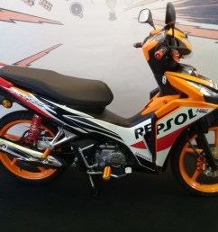available in three colours the wave dash fi is priced at rm5 860 s type rm6 178 r type and rm6 337 repsol edition all come with a 2 year 20 000km  [ 1707 x 1280 Pixel ]