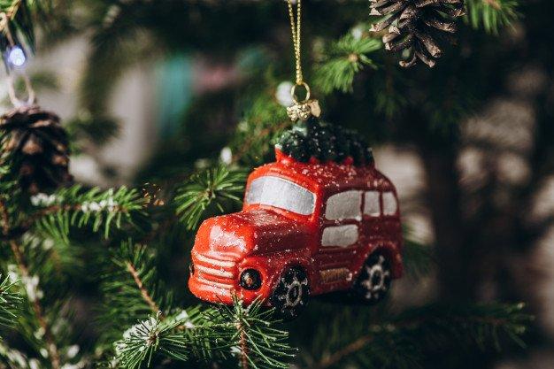 Adornos de Navidad para el coche