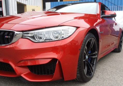 Paint Protection New Car – M4 BMW