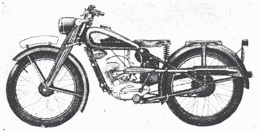 Oldtimer gallery. Motorcycles. Ardie.