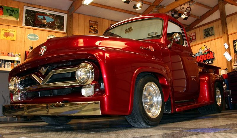 1955 Ford F 150 On 30s