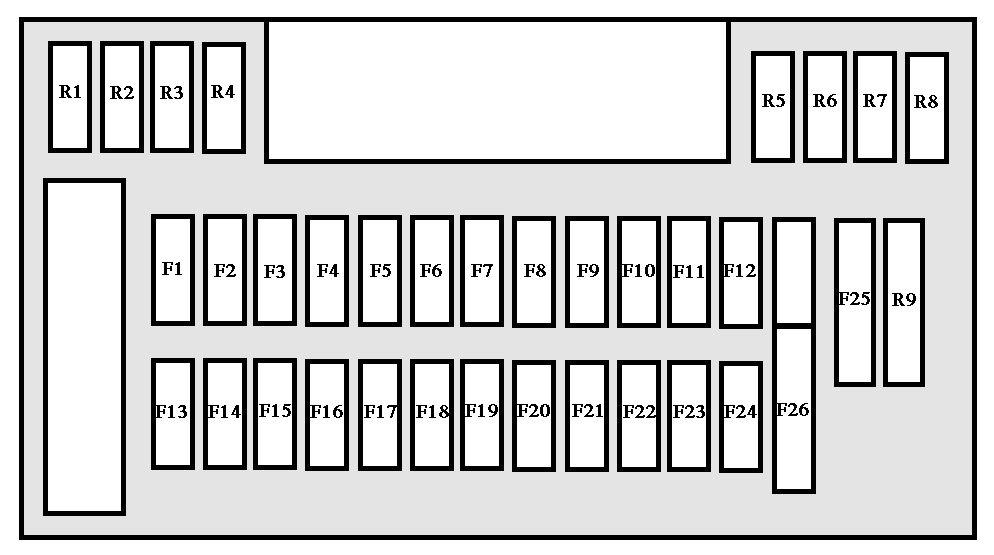 2004 pontiac grand prix dash wiring diagram three way peugeot 607 1999 fuse box auto genius