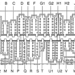 Cargo Light Wiring Diagram Leviton Decora Dimmer Switch Volkswagen Passat B4 (1993 - 1996) Fuse Box Auto Genius