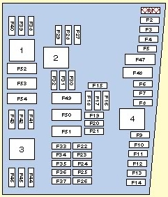 Volkswagen Golf mk5  fuse box diagram  Auto Genius