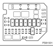2009 Toyota Yaris Fuse Box Wiring Diagrams Schematics Mk2