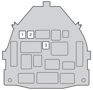 Toyota Aygo (AB10; 2012  2014)  fuse box diagram  Auto