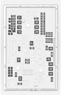 Vauxhall Astra 6th Generation (Astra J) (from 2014)  fuse box diagram  Auto Genius
