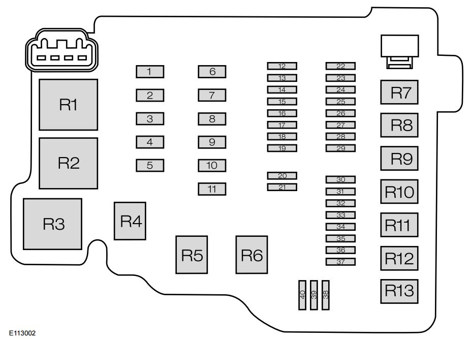 2nd Gen Ford Focus Fuse Box Diagram : 35 Wiring Diagram