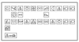 Ford Ikon (from 2009)  fuse box diagram (India version