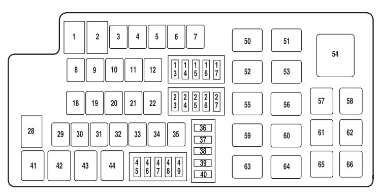 Fuse Box For 2013 Lincoln Mkz : 29 Wiring Diagram Images