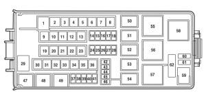 2008 Lincoln Mark Lt Fuse Diagram | Wiring Diagram