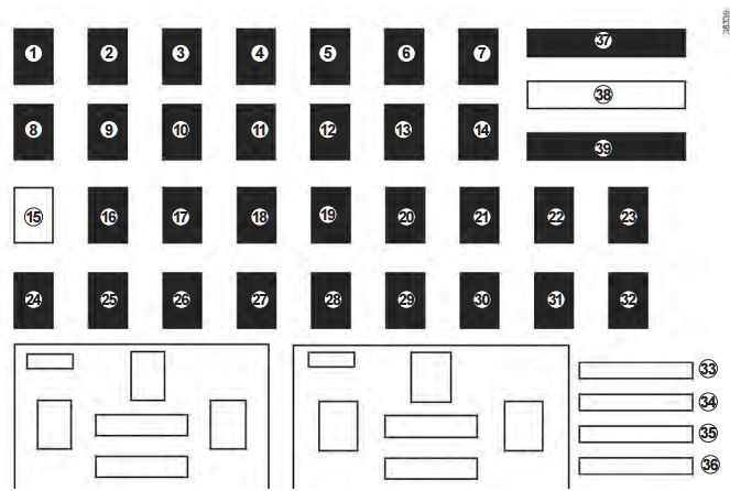 Renault Master Fuse Box Layout : 30 Wiring Diagram Images