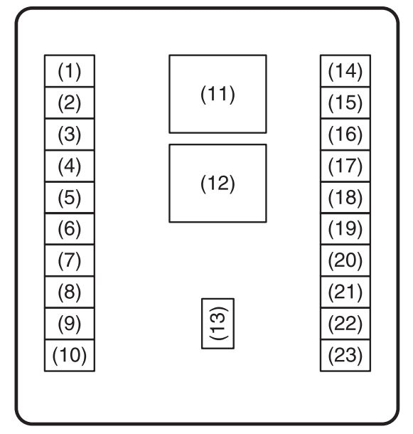 Suzuki Wagon R Fuse Box : 23 Wiring Diagram Images