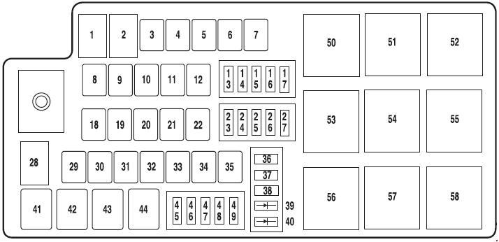 electronic relay panel
