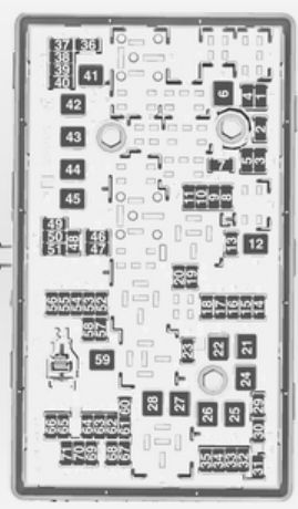 Opel Insignia (2012  2013)  fuse box diagram  Auto Genius