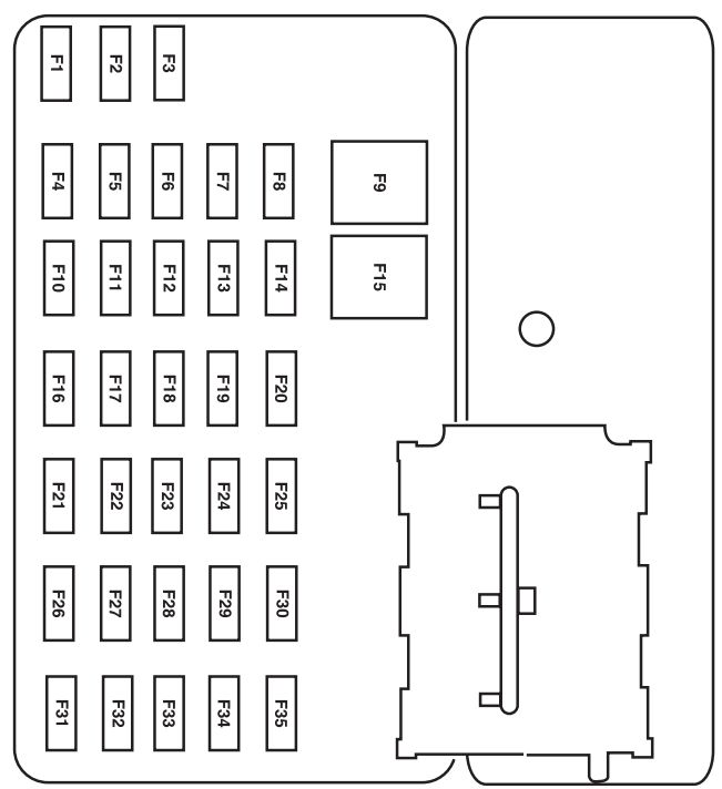 2011 mack fuse diagram