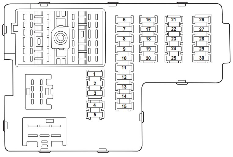 File: 2002 Sequoium Fuse Box Layout